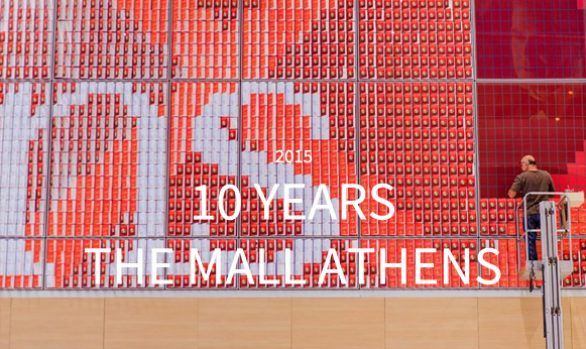 10 YEARS THE MALL ATHENS